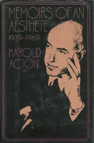 9780670468164: Memoirs of an Aesthete 1939-1969