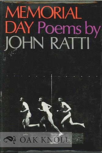 Memorial Day: Poems by John Ratti.: RATTI, JOHN
