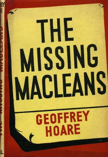 9780670480401: The Missing Macleans