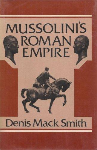 9780670496525: Mussolini's Roman Empire