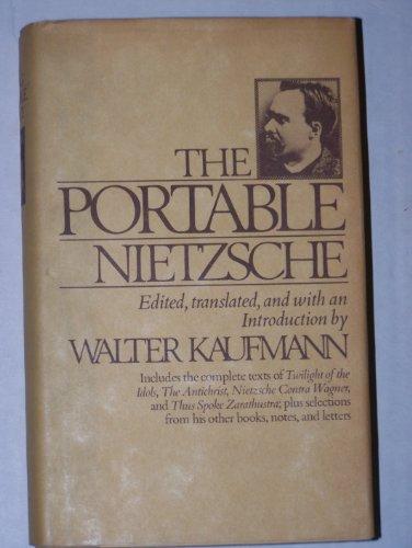 9780670511198: Nietzsche (Viking Portable Library)