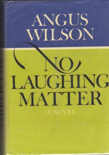 9780670514212: No Laughing Matter