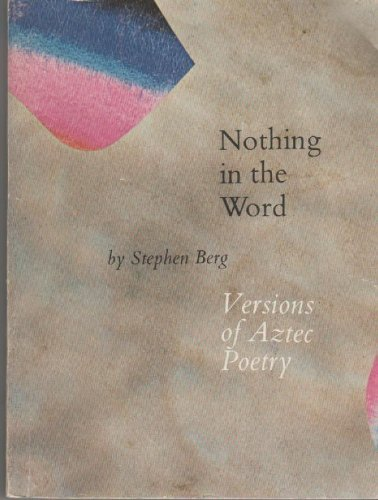 Nothing in the World (0670517364) by Stephen Berg