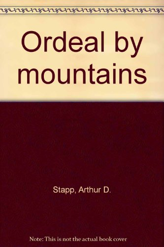 9780670528240: Ordeal by Mountain