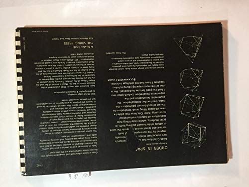 9780670528301: Order in Space: A Design Source Book
