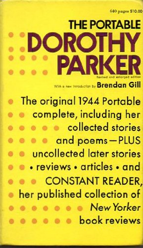 9780670540167: The Portable Dorothy Parker (The Viking portable library)