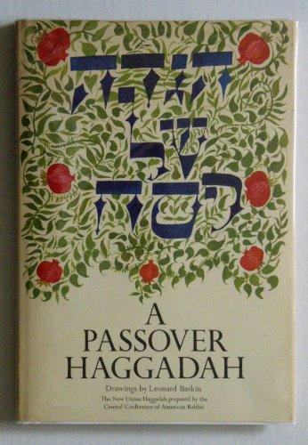 A PASSOVER HAGGADAH.: Bronstein, Herbert (edited by).