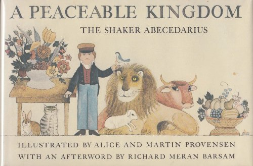 9780670545001: A Peaceable Kingdom: The Shaker Abecedarius