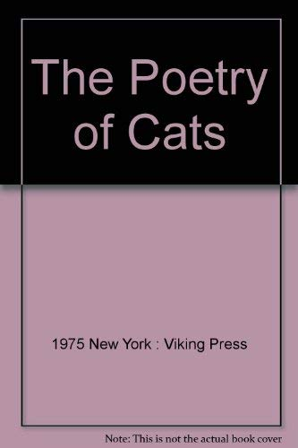 9780670562732: The Poetry of Cats (A Studio book)