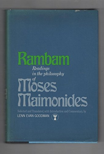 9780670589647: Rambam: Readings in the Philosophy of Moses Maimonides