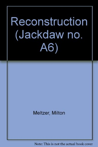 9780670590865: Reconstruction (Jackdaw no. A6)