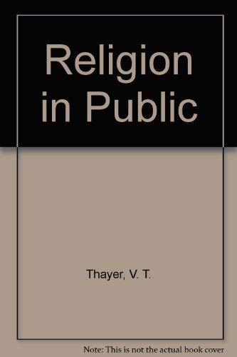 9780670593262: Religion in Public