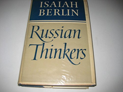 9780670613717: Russian Thinkers