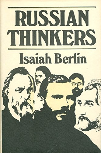 Russian Thinkers. Ed. By Henry Hardy and: Berlin, Isaiah