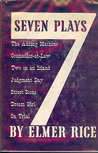 Seven Plays: Rice, Elmer