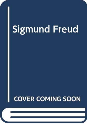9780670644544: Sigmund Freud (Modern masters, M12)