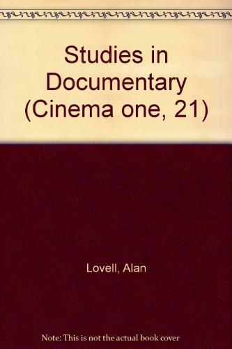 9780670679669: Studies in Documentary (Cinema one, 21)