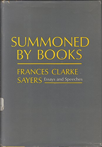 Summoned by Books: Sayers, Frances Clark