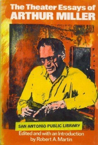 The Theater Essays of Arthur Miller (9780670698011) by Arthur Miller