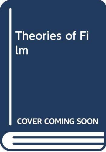 9780670698110: Theories of Film (Cinema one, 23)
