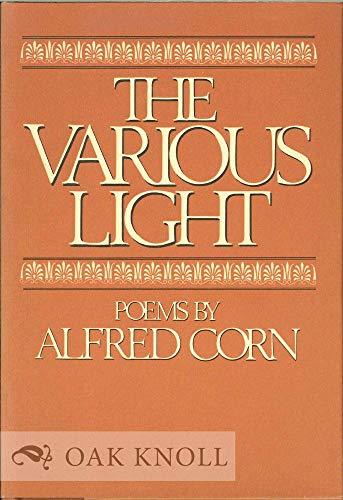 9780670743223: The Various Light