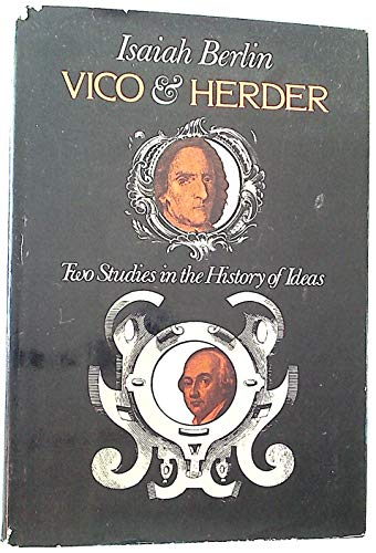9780670745852: Vico and Herder: Two Studies in the History of Ideas