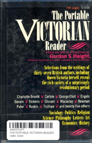 9780670745982: The Portable Victorian Reader