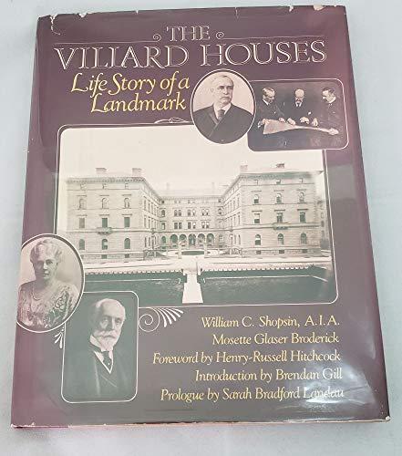 9780670746859: The Villard Houses (A Studio book)