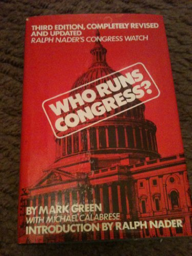Who Runs Congress (0670764922) by Nader, Ralph