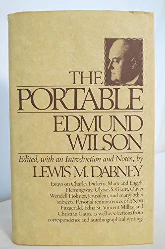 9780670770786: The Portable Edmund Wilson