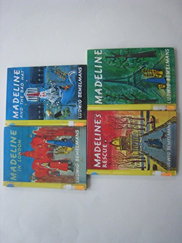 Madeline's Book Collection (Madeline; Madeline's Rescue; Madeline: Ludwig Bemelmans