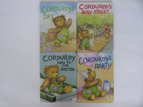 9780670771899: Corduroy Board Book Collection 4 Books: Corduroy's Party / Corduroy's Busy Street / Corduroy's Day /
