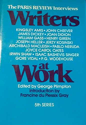 9780670790982: Writers at Work (Paris Review Interviews)