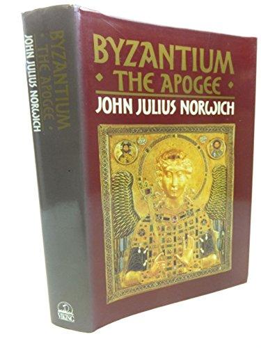 9780670802524: Byzantium: The Apogee v. 2