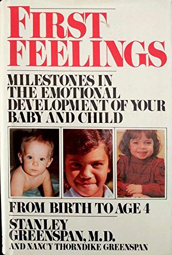 9780670803866: First Feelings