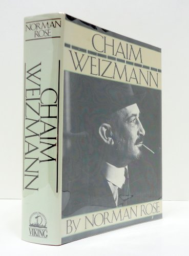 9780670804696: Chaim Weizmann: A Biography