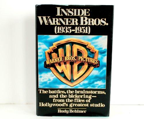 Inside Warner Bros. (1935-1951): Behlmer, Rudy