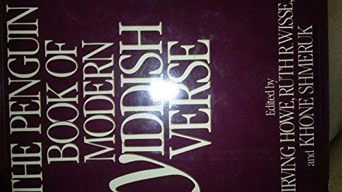 The Penguin Book of Modern Yiddish Verse: Ruth R. Wisse,