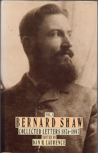 9780670805433: Bernard Shaw: Collected Letters 1874-1897, Volume 1