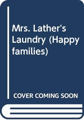 9780670805815: Mrs. Lather's Laundry (Happy Families)