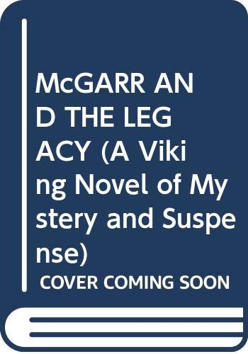 9780670806737: Mcgarr and the Legacy of a Woman Scorned (A Viking Novel of Mystery and Suspense)
