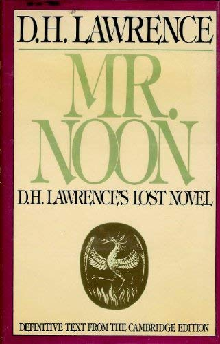 Mr. Noon (0670808180) by D.H. Lawrence