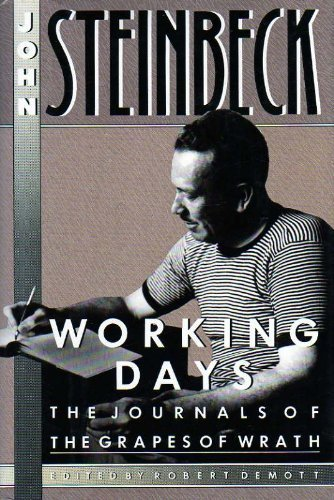 9780670808458: Working Days: The Journals of the Grapes of Wrath, 1938-1941