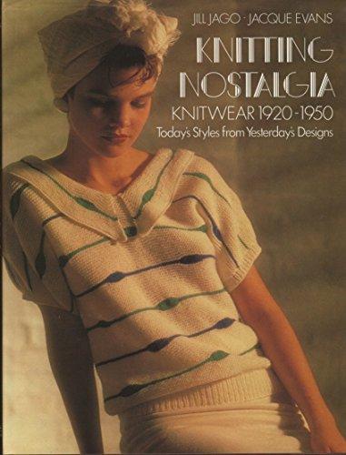 9780670808793: Knitting Nostalgia: Knitwear, 1920-50