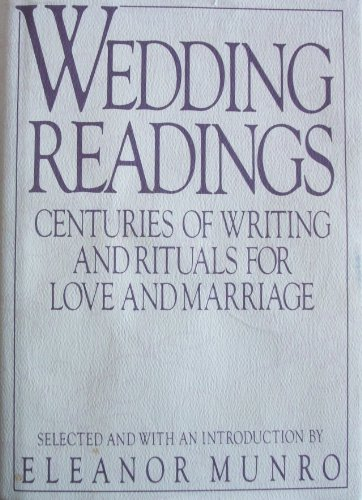 9780670810888: Wedding Readings: Centuries of Writing and Rituals on Love and Marriage