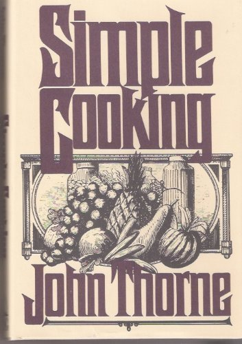 9780670812127: Simple Cooking