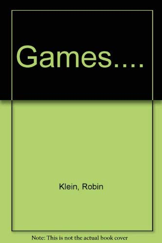 9780670814039: Games