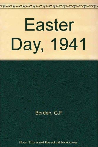 9780670815043: EASTER DAY, 1941 - A Novel of the Western Desert,
