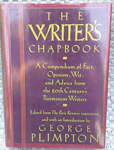 9780670815654: The Writer's Chapbook