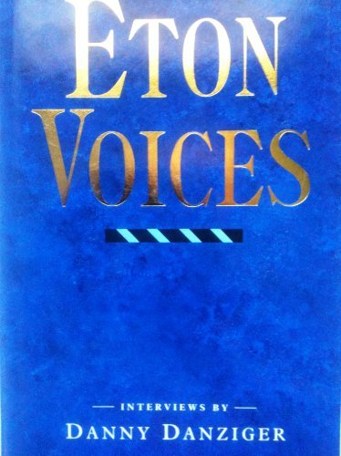 9780670816309: Eton Voices: Interviews